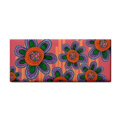 Colorful Floral Dream Hand Towel