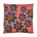 Colorful Floral Dream Standard Cushion Case (One Side) Front