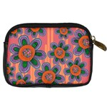 Colorful Floral Dream Digital Camera Cases Back