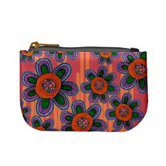 Colorful Floral Dream Mini Coin Purses
