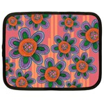 Colorful Floral Dream Netbook Case (XXL)  Front