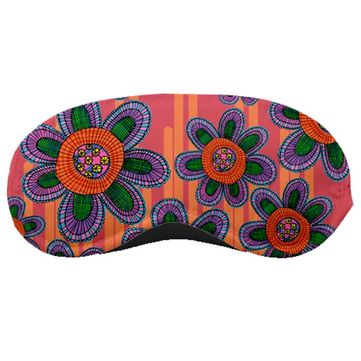 Colorful Floral Dream Sleeping Masks