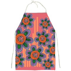 Colorful Floral Dream Full Print Aprons by DanaeStudio