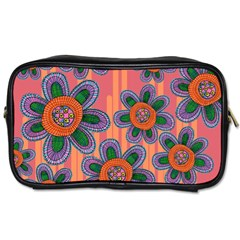 Colorful Floral Dream Toiletries Bags 2-Side