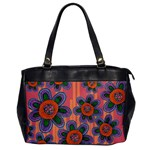 Colorful Floral Dream Office Handbags Front
