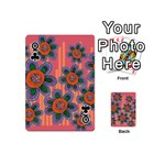 Colorful Floral Dream Playing Cards 54 (Mini)  Front - ClubQ