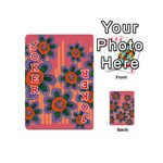 Colorful Floral Dream Playing Cards 54 (Mini)  Front - Joker2