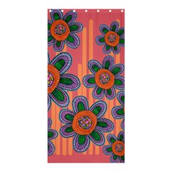 Colorful Floral Dream Shower Curtain 36  X 72  (stall)