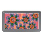 Colorful Floral Dream Memory Card Reader (Mini) Front