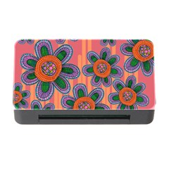 Colorful Floral Dream Memory Card Reader With Cf by DanaeStudio