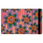 Colorful Floral Dream Apple iPad 3/4 Flip Case