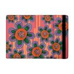 Colorful Floral Dream Apple iPad Mini Flip Case