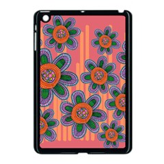 Colorful Floral Dream Apple Ipad Mini Case (black)