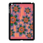 Colorful Floral Dream Apple iPad Mini Case (Black) Front