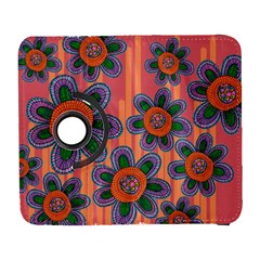 Colorful Floral Dream Samsung Galaxy S  Iii Flip 360 Case by DanaeStudio