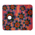 Colorful Floral Dream Samsung Galaxy S  III Flip 360 Case Front