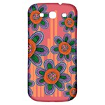 Colorful Floral Dream Samsung Galaxy S3 S III Classic Hardshell Back Case Front