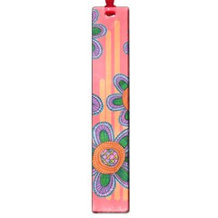 Colorful Floral Dream Large Book Marks