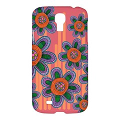 Colorful Floral Dream Samsung Galaxy S4 I9500/i9505 Hardshell Case by DanaeStudio