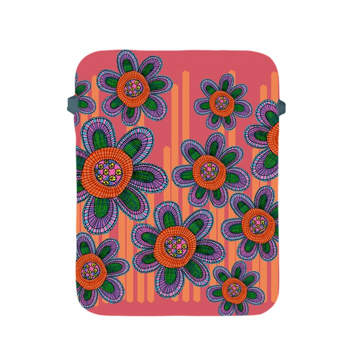 Colorful Floral Dream Apple iPad 2/3/4 Protective Soft Cases