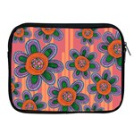Colorful Floral Dream Apple iPad 2/3/4 Zipper Cases Front