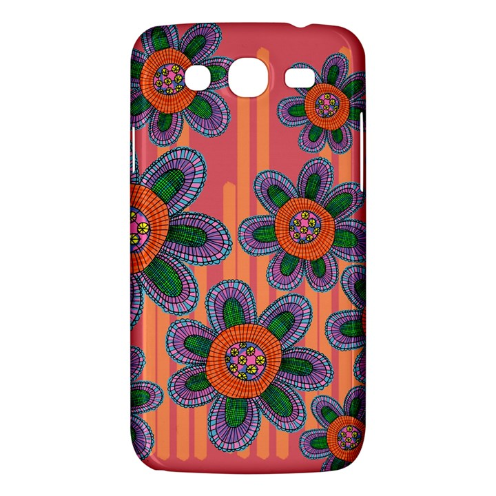 Colorful Floral Dream Samsung Galaxy Mega 5.8 I9152 Hardshell Case
