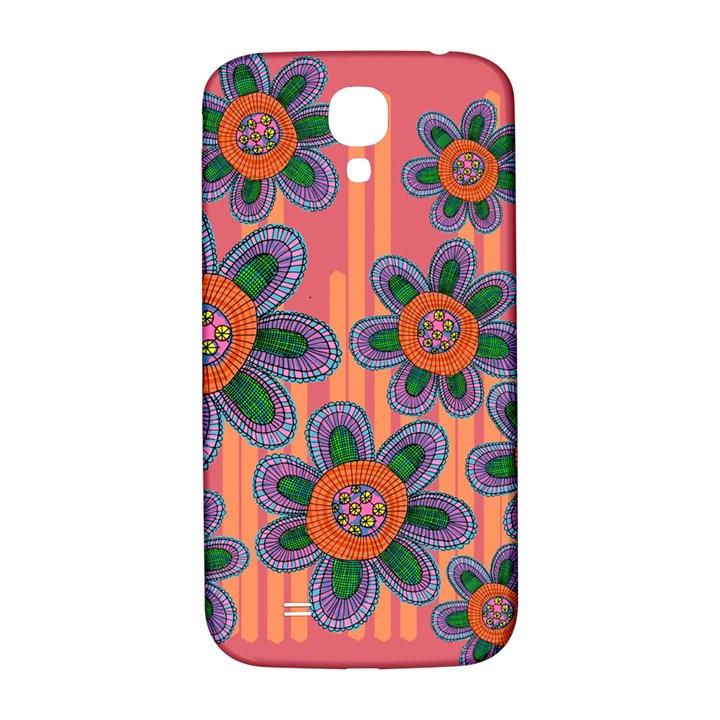 Colorful Floral Dream Samsung Galaxy S4 I9500/I9505  Hardshell Back Case