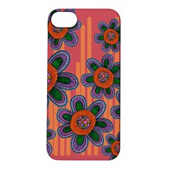 Colorful Floral Dream Apple iPhone 5S/ SE Hardshell Case