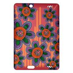 Colorful Floral Dream Amazon Kindle Fire Hd (2013) Hardshell Case by DanaeStudio
