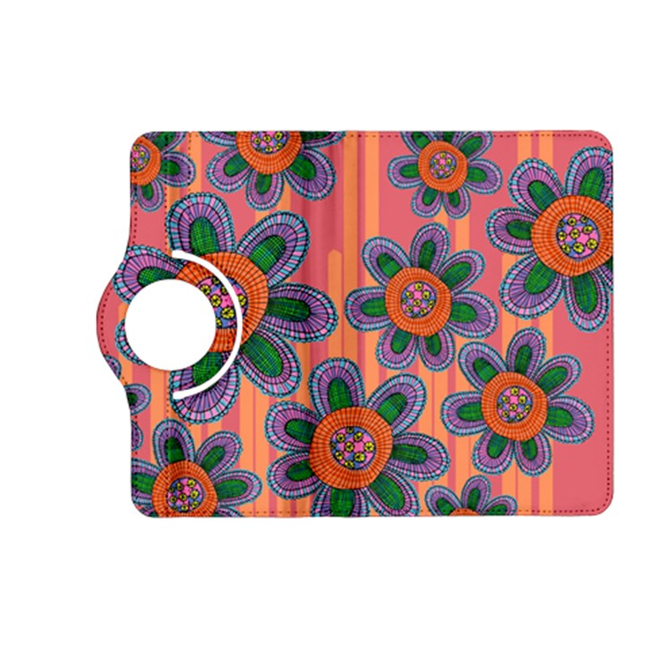Colorful Floral Dream Kindle Fire HD (2013) Flip 360 Case