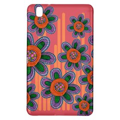 Colorful Floral Dream Samsung Galaxy Tab Pro 8 4 Hardshell Case by DanaeStudio