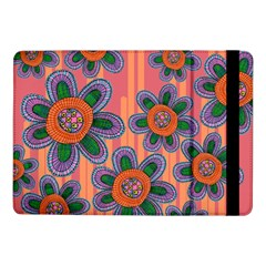 Colorful Floral Dream Samsung Galaxy Tab Pro 10 1  Flip Case by DanaeStudio