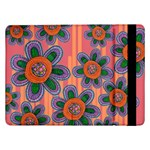 Colorful Floral Dream Samsung Galaxy Tab Pro 12.2  Flip Case Front