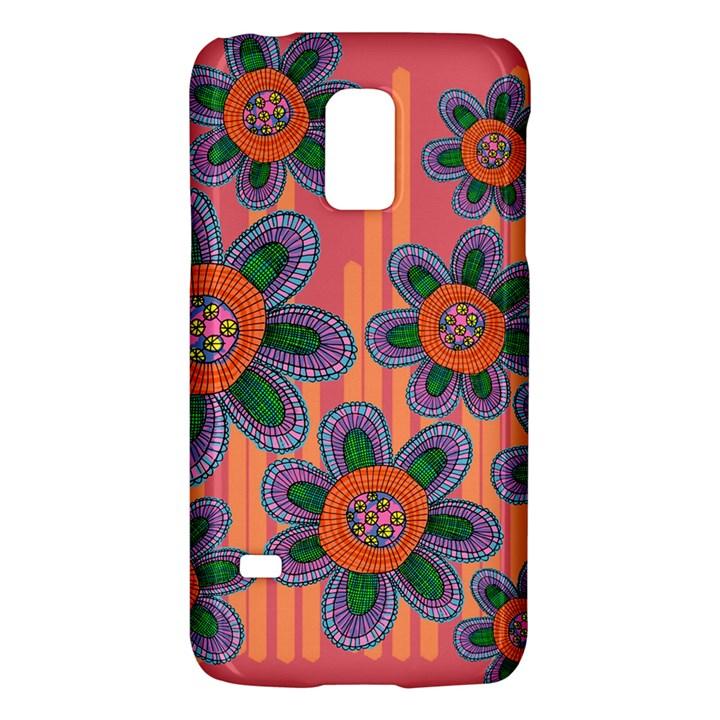 Colorful Floral Dream Galaxy S5 Mini