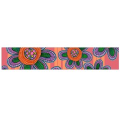 Colorful Floral Dream Flano Scarf (Large)