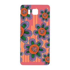 Colorful Floral Dream Samsung Galaxy Alpha Hardshell Back Case by DanaeStudio