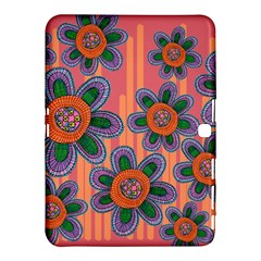 Colorful Floral Dream Samsung Galaxy Tab 4 (10 1 ) Hardshell Case