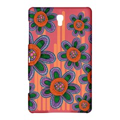 Colorful Floral Dream Samsung Galaxy Tab S (8 4 ) Hardshell Case