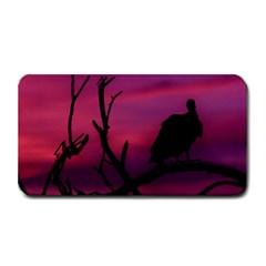 Vultures At Top Of Tree Silhouette Illustration Medium Bar Mats