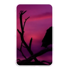 Vultures At Top Of Tree Silhouette Illustration Memory Card Reader