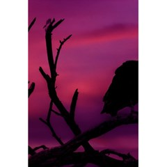 Vultures At Top Of Tree Silhouette Illustration 5 5  X 8 5  Notebooks by dflcprints
