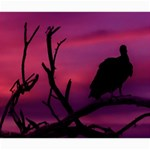 Vultures At Top Of Tree Silhouette Illustration Storage Stool 12   Top