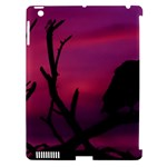 Vultures At Top Of Tree Silhouette Illustration Apple iPad 3/4 Hardshell Case (Compatible with Smart Cover)