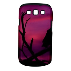 Vultures At Top Of Tree Silhouette Illustration Samsung Galaxy S Iii Classic Hardshell Case (pc+silicone) by dflcprints
