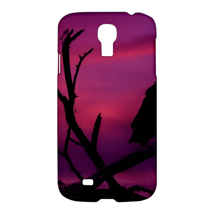 Vultures At Top Of Tree Silhouette Illustration Samsung Galaxy S4 I9500/I9505 Hardshell Case