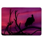 Vultures At Top Of Tree Silhouette Illustration Samsung Galaxy Tab 8.9  P7300 Flip Case
