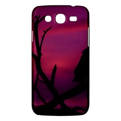Vultures At Top Of Tree Silhouette Illustration Samsung Galaxy Mega 5 8 I9152 Hardshell Case  by dflcprints