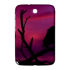 Vultures At Top Of Tree Silhouette Illustration Samsung Galaxy Note 8.0 N5100 Hardshell Case