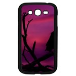 Vultures At Top Of Tree Silhouette Illustration Samsung Galaxy Grand DUOS I9082 Case (Black) Front