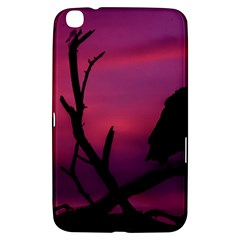 Vultures At Top Of Tree Silhouette Illustration Samsung Galaxy Tab 3 (8 ) T3100 Hardshell Case  by dflcprints